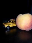 A Peach bigger than this NYC taxi cab?!